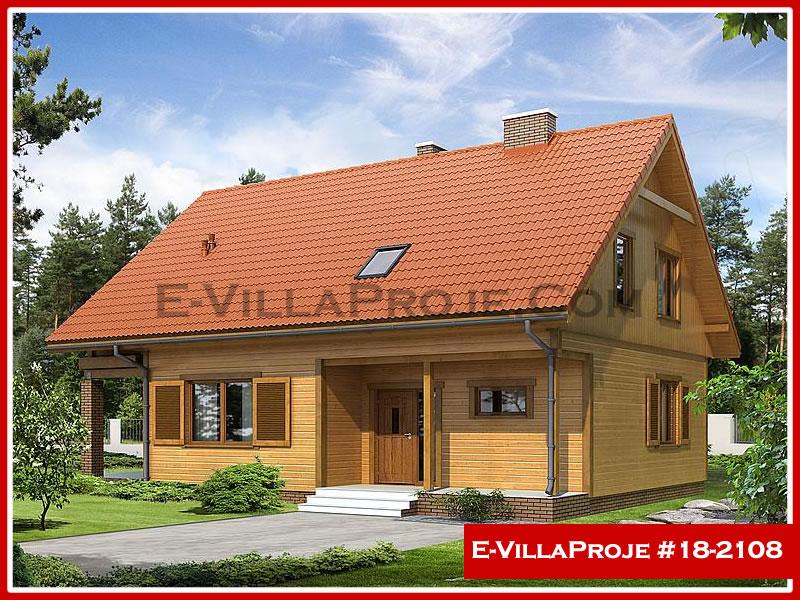 Ev Villa Proje #18 – 2108, 2 katlı, 4 yatak odalı, 0 garajlı, 202 m2