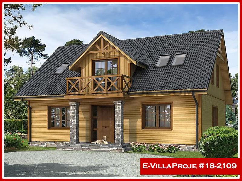 Ev Villa Proje #18 – 2109, 2 katlı, 4 yatak odalı, 0 garajlı, 206 m2