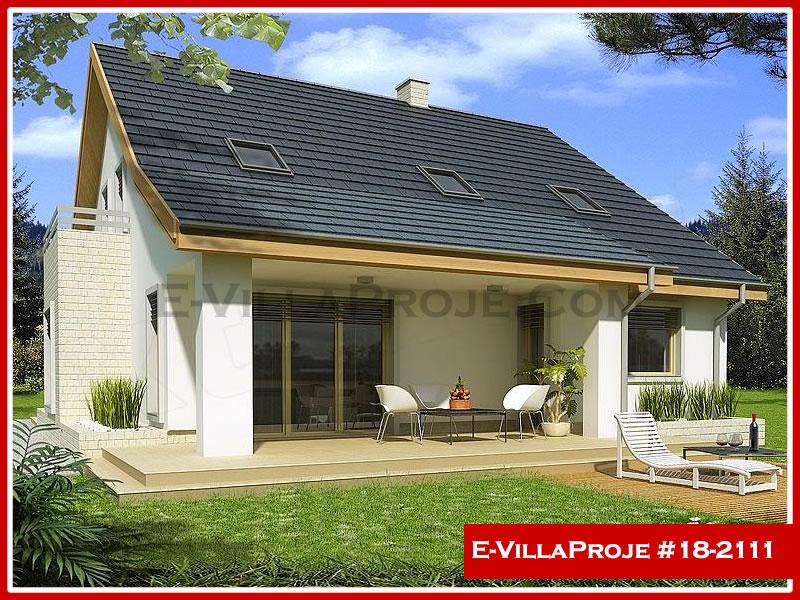 Ev Villa Proje #18 – 2111, 2 katlı, 4 yatak odalı, 1 garajlı, 213 m2