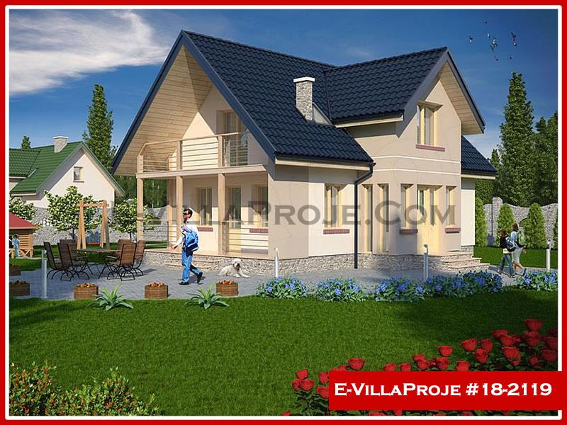Ev Villa Proje #18 – 2119, 2 katlı, 4 yatak odalı, 0 garajlı, 160 m2
