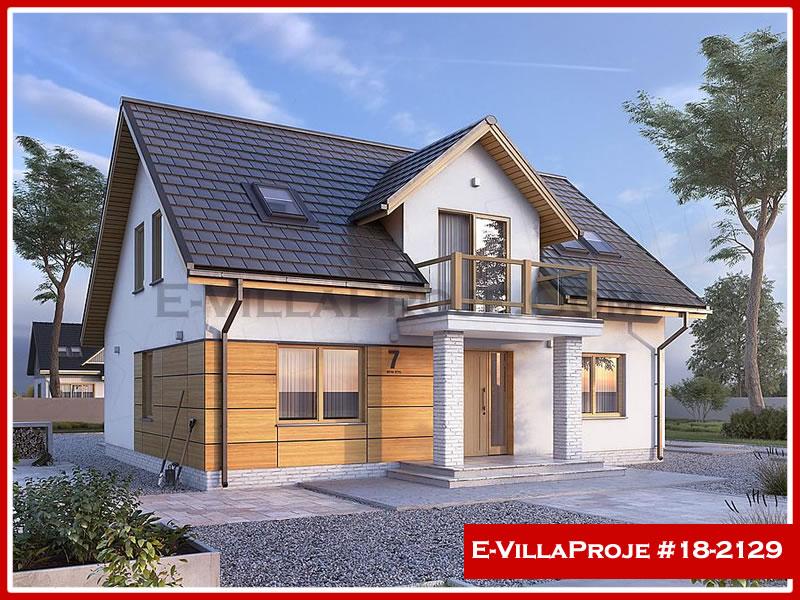 Ev Villa Proje #18 – 2129, 2 katlı, 4 yatak odalı, 0 garajlı, 207 m2