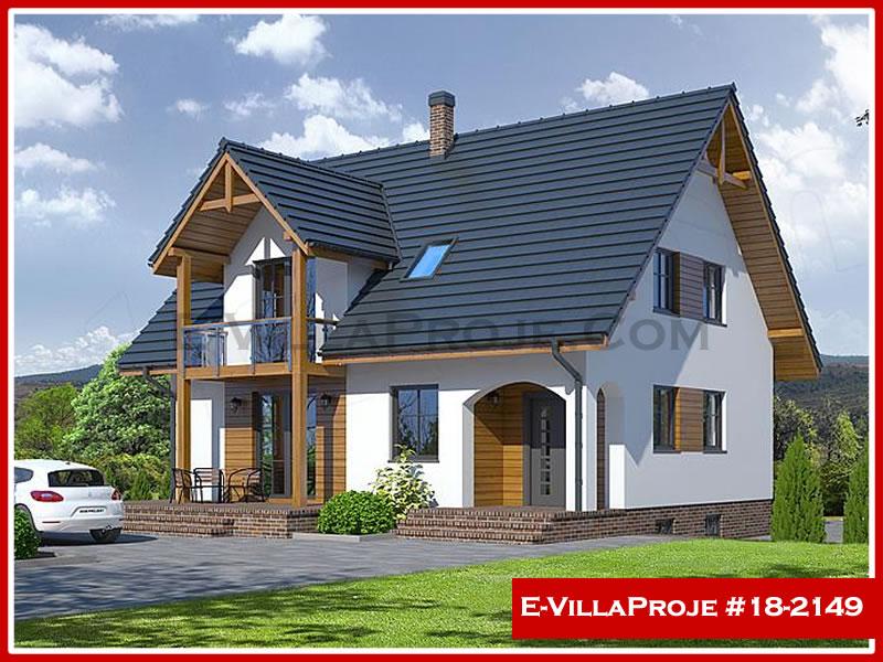 Ev Villa Proje #18 – 2149, 2 katlı, 5 yatak odalı, 0 garajlı, 188 m2