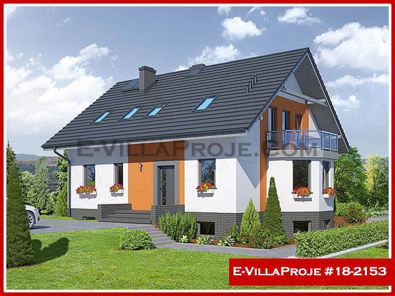 Ev Villa Proje #18 – 2153, 2 katlı, 6 yatak odalı, 0 garajlı, 215 m2