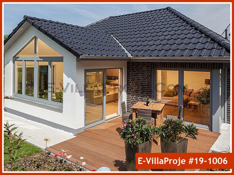 Ev Villa Proje #19 – 1006, 1 katlı, 2 yatak odalı, 1 garajlı, 142 m2