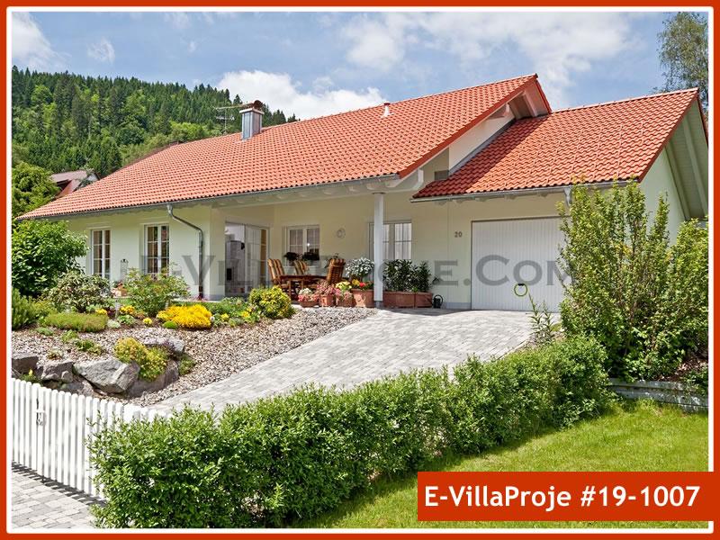 Ev Villa Proje #19 – 1007, 1 katlı, 2 yatak odalı, 1 garajlı, 137 m2