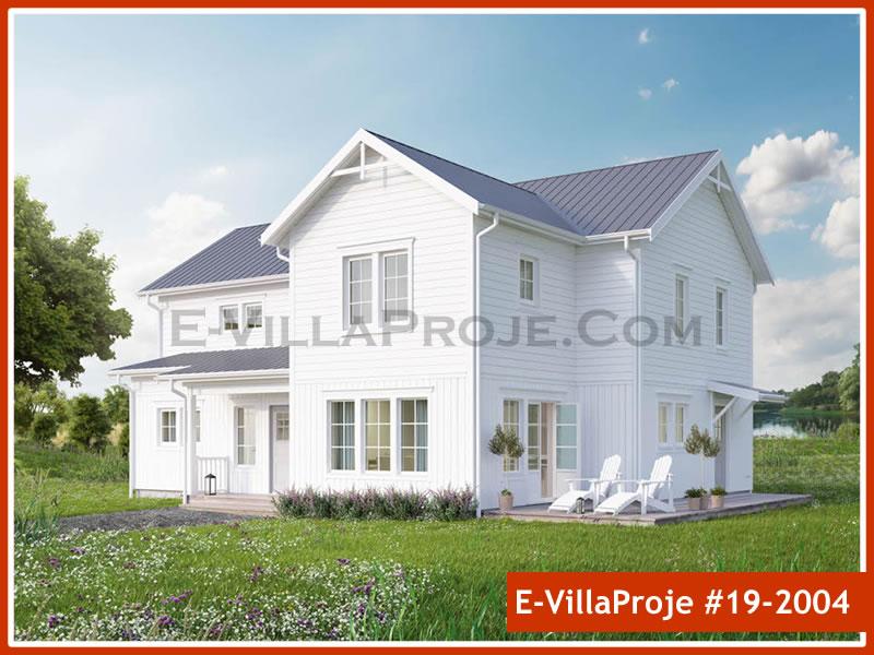 Ev Villa Proje #19 – 2004, 2 katlı, 4 yatak odalı, 0 garajlı, 265 m2
