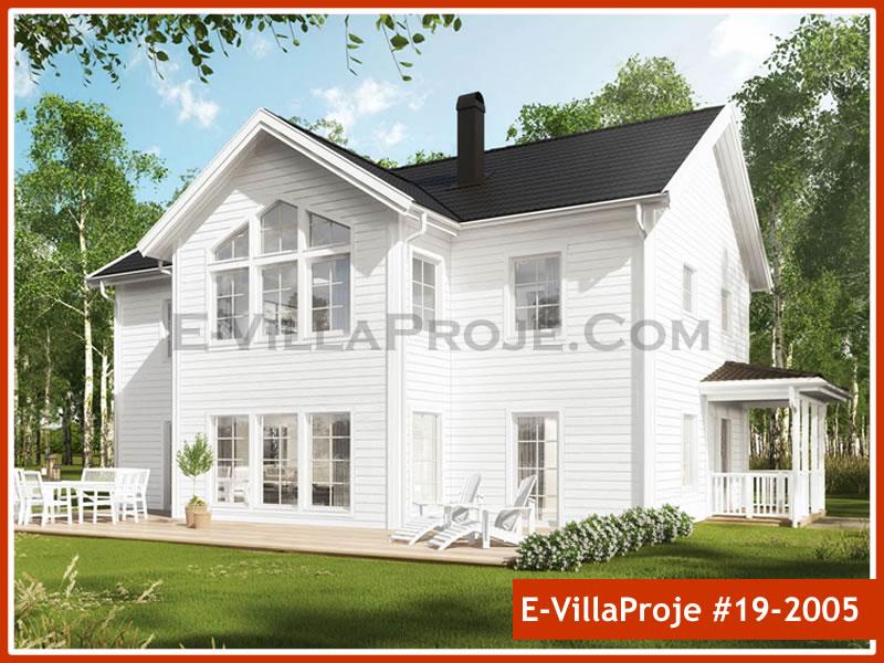 Ev Villa Proje #19 – 2005, 2 katlı, 5 yatak odalı, 0 garajlı, 227 m2