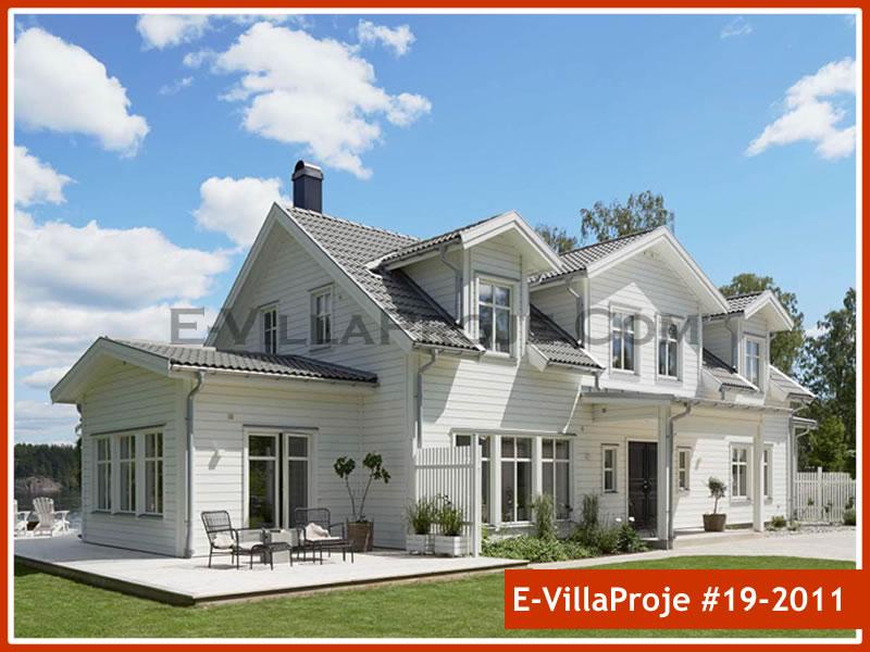 Ev Villa Proje #19 – 2011, 2 katlı, 5 yatak odalı, 0 garajlı, 264 m2