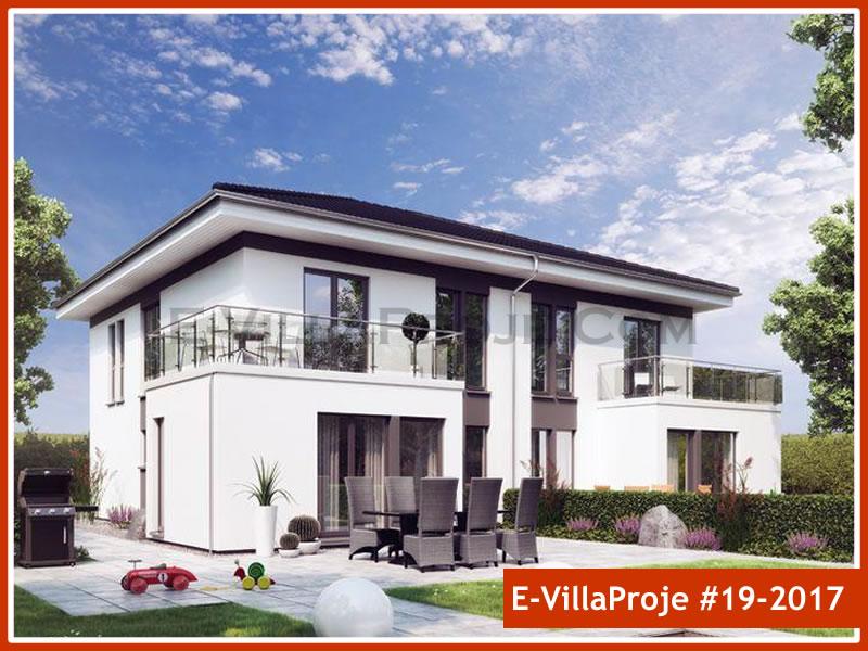 Ev Villa Proje #19 – 2017, 2 katlı, 3 yatak odalı, 0 garajlı, 114 m2