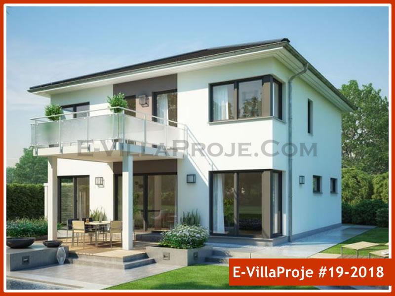Ev Villa Proje #19 – 2018, 2 katlı, 5 yatak odalı, 1 garajlı, 204 m2