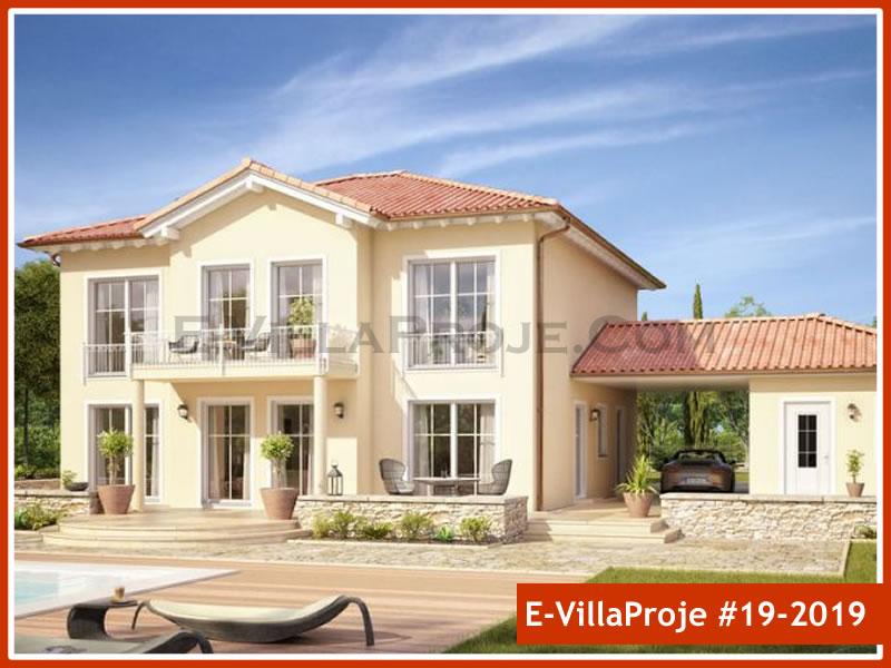 Ev Villa Proje #19 – 2019, 2 katlı, 4 yatak odalı, 1 garajlı, 257 m2