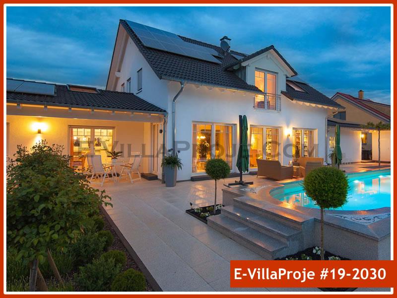 Ev Villa Proje #19 – 2030, 2 katlı, 4 yatak odalı, 2 garajlı, 279 m2