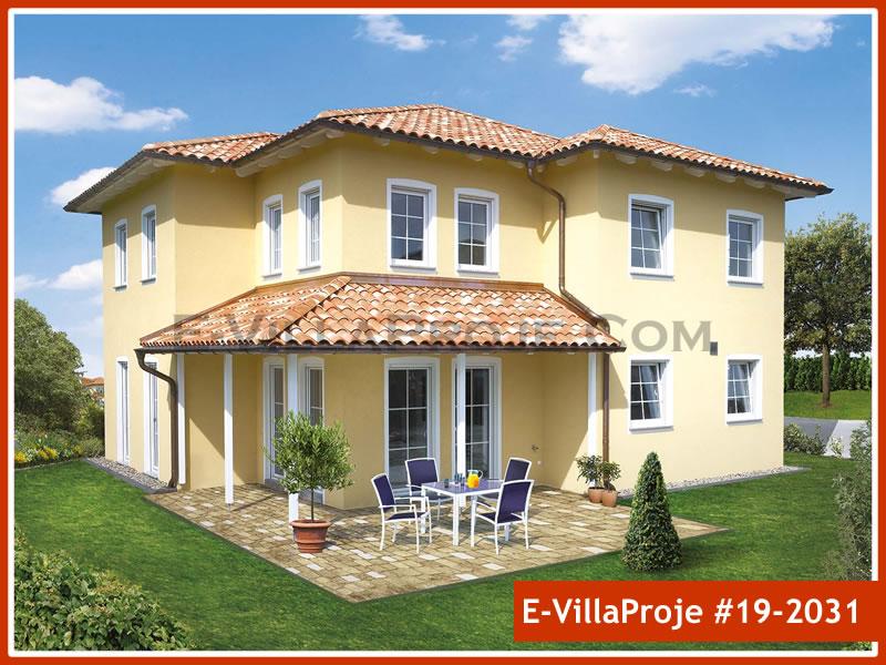 Ev Villa Proje #19 – 2031, 2 katlı, 4 yatak odalı, 1 garajlı, 214 m2