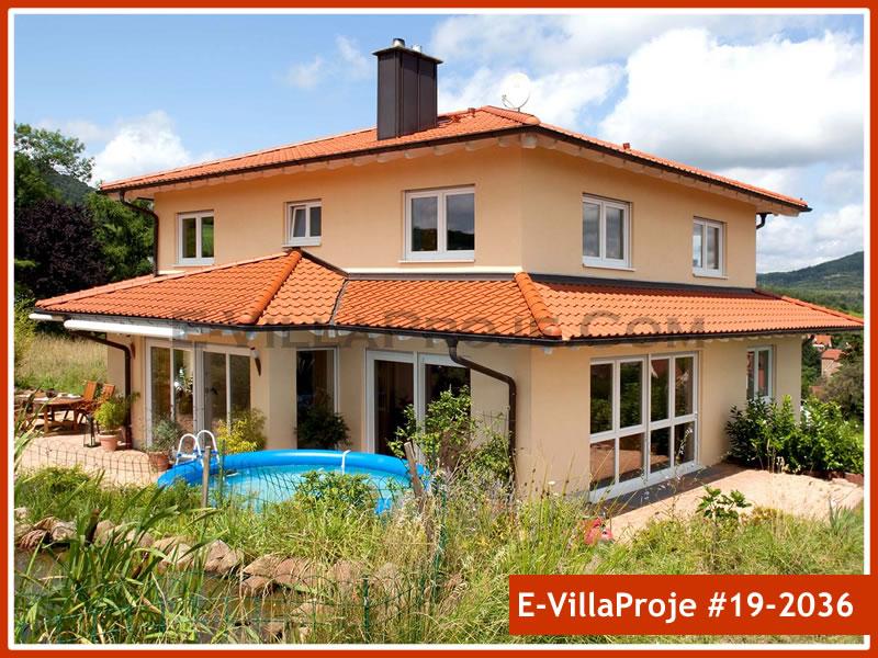 Ev Villa Proje #19 – 2036, 2 katlı, 4 yatak odalı, 0 garajlı, 284 m2