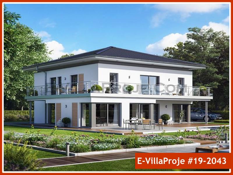 Ev Villa Proje #19 – 2043, 2 katlı, 4 yatak odalı, 0 garajlı, 221 m2