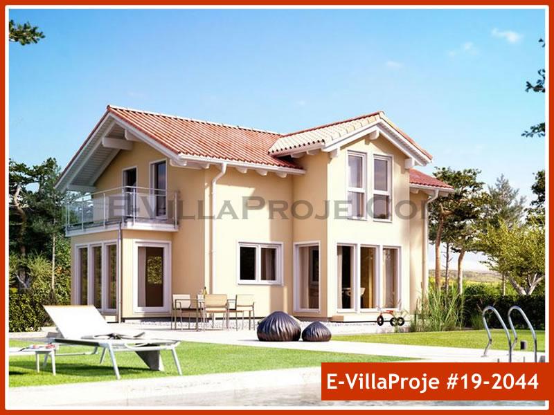 Ev Villa Proje #19 – 2044, 2 katlı, 4 yatak odalı, 0 garajlı, 171 m2