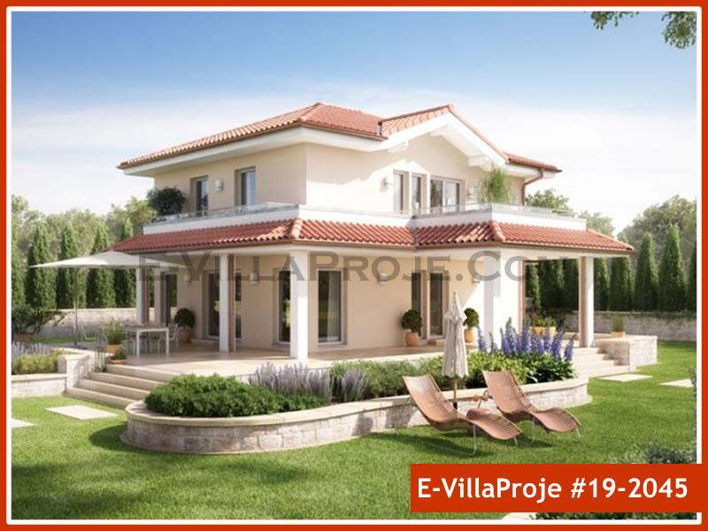 Ev Villa Proje #19 – 2045, 2 katlı, 4 yatak odalı, 0 garajlı, 164 m2