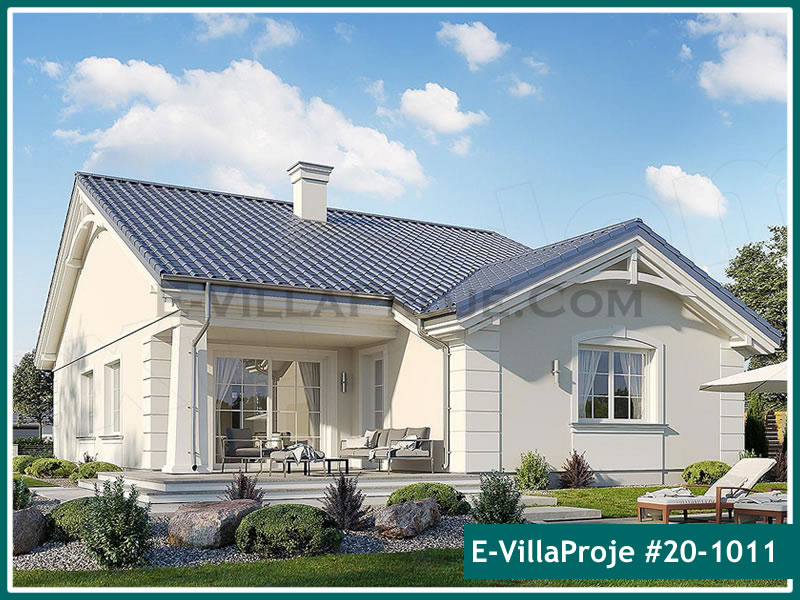 Ev Villa Proje #20 – 1011, 1 katlı, 3 yatak odalı, 1 garajlı, 165 m2