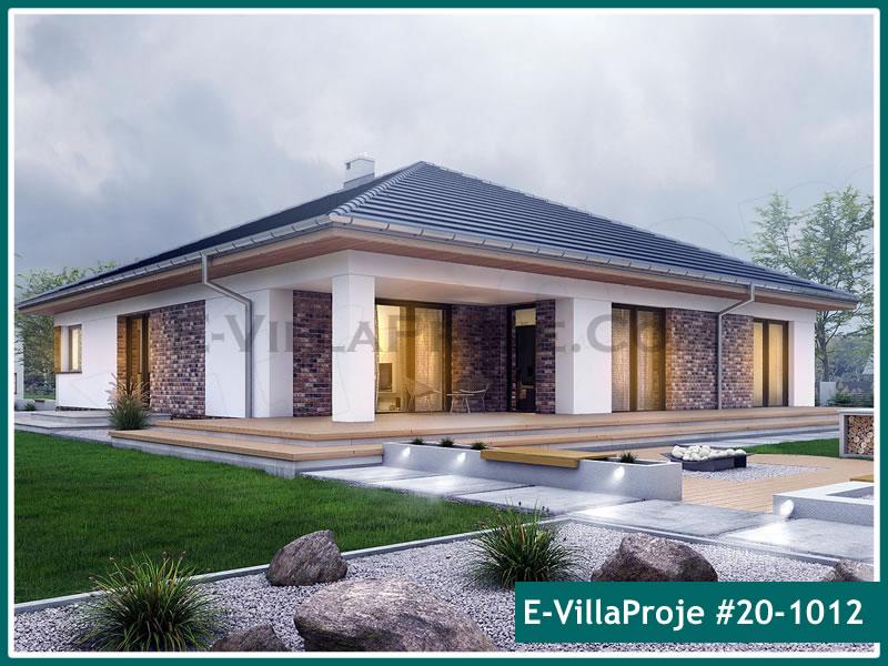 Ev Villa Proje #20 – 1012, 1 katlı, 3 yatak odalı, 2 garajlı, 183 m2