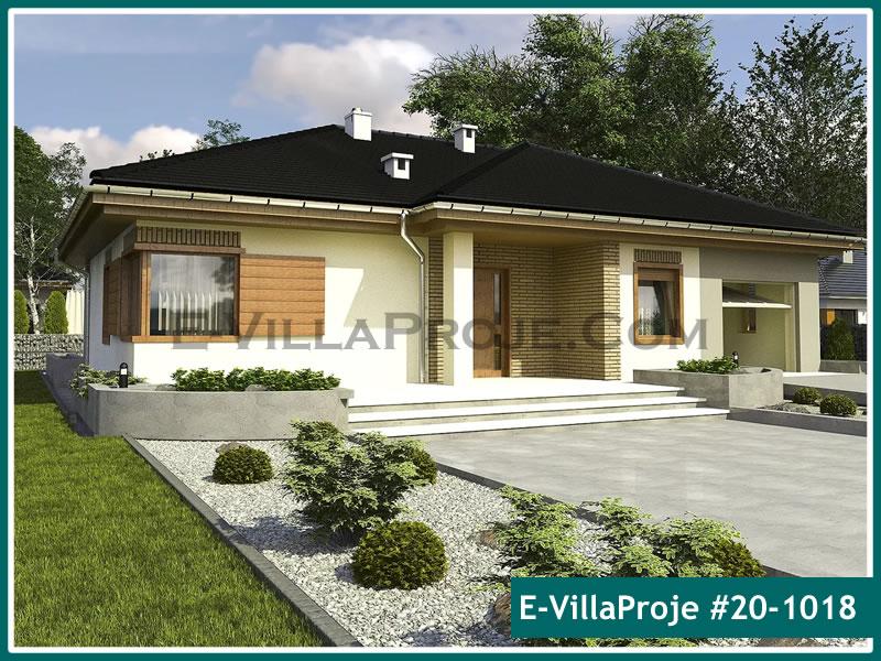 Ev Villa Proje #20 – 1018, 1 katlı, 3 yatak odalı, 1 garajlı, 134 m2