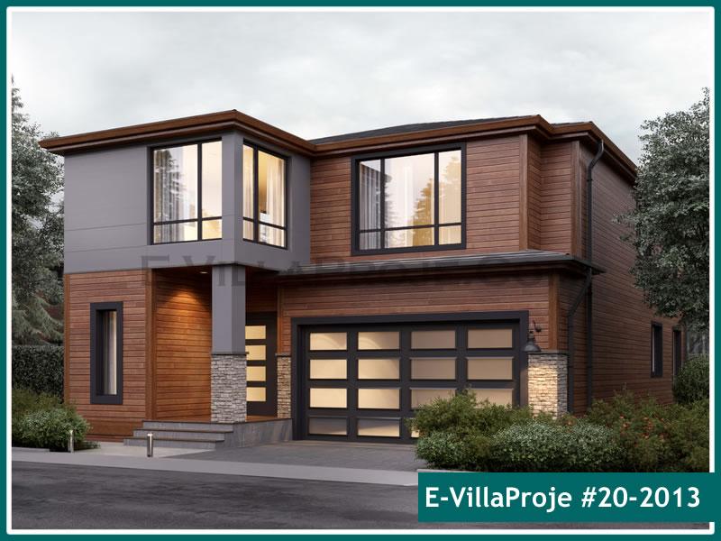 Ev Villa Proje #20 – 2013, 2 katlı, 4 yatak odalı, 1 garajlı, 252 m2