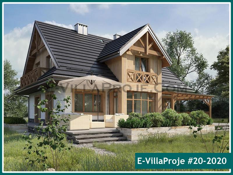 Ev Villa Proje #20 – 2020, 2 katlı, 5 yatak odalı, 0 garajlı, 226 m2