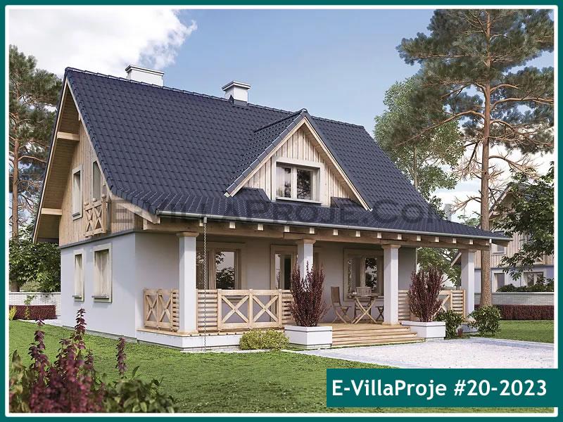 Ev Villa Proje #20 – 2023, 2 katlı, 3 yatak odalı, 0 garajlı, 176 m2