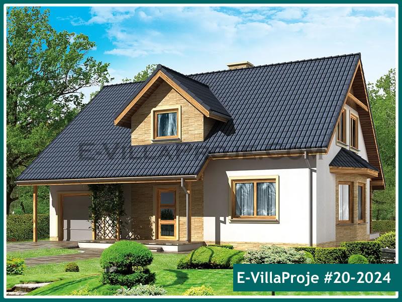 Ev Villa Proje #20 – 2024, 2 katlı, 4 yatak odalı, 1 garajlı, 221 m2