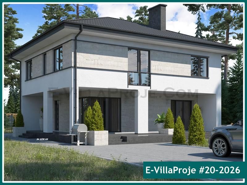 Ev Villa Proje #20 – 2026, 2 katlı, 5 yatak odalı, 0 garajlı, 217 m2