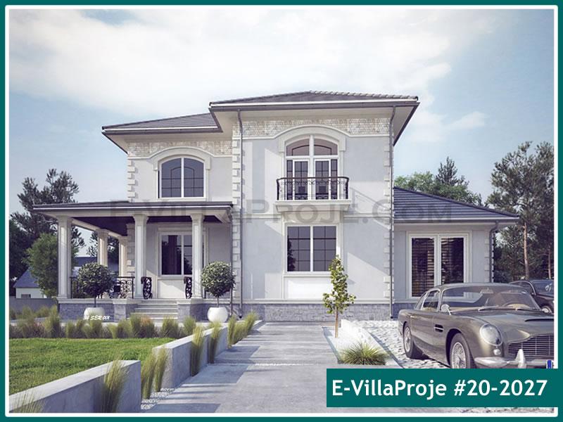 Ev Villa Proje #20 – 2027, 2 katlı, 5 yatak odalı, 1 garajlı, 265 m2
