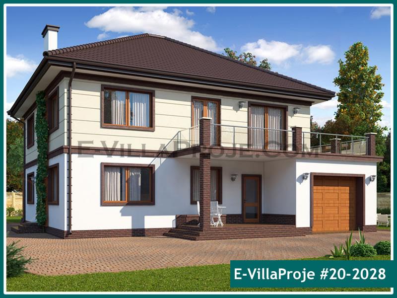 Ev Villa Proje #20 – 2028, 2 katlı, 1 yatak odalı, 1 garajlı, 258 m2