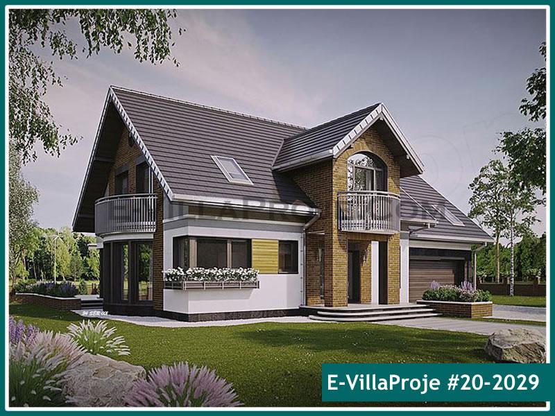 Ev Villa Proje #20 – 2029, 2 katlı, 4 yatak odalı, 2 garajlı, 290 m2