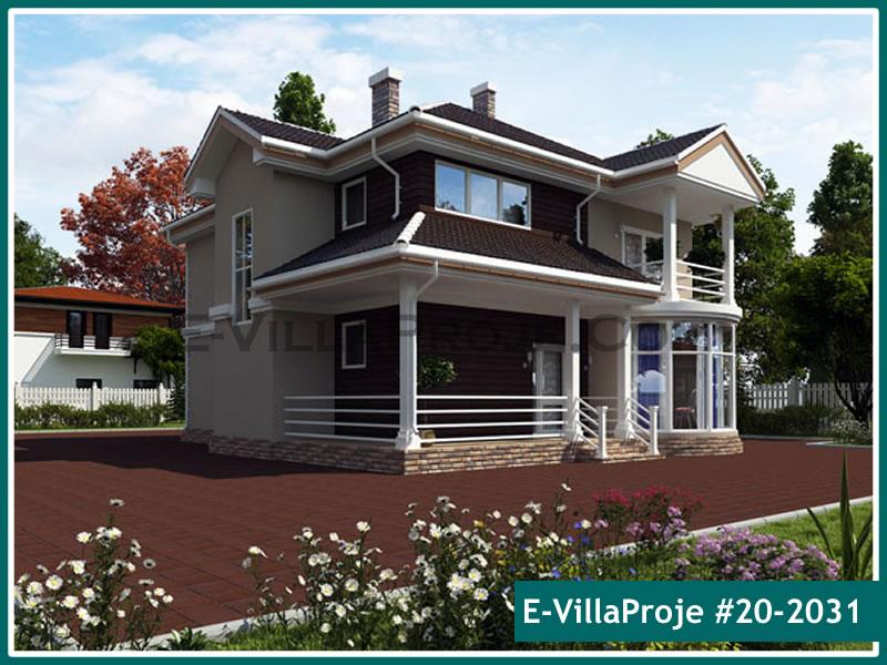 Ev Villa Proje #20 – 2031, 2 katlı, 4 yatak odalı, 0 garajlı, 224 m2