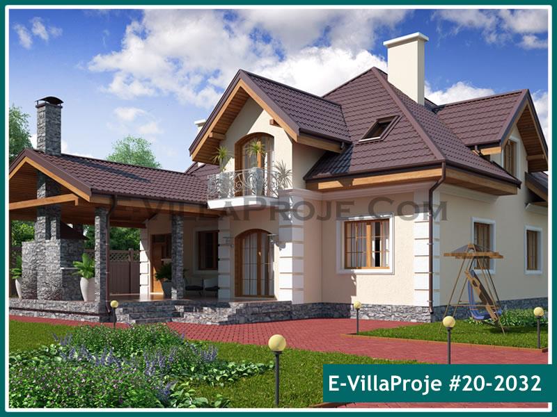 Ev Villa Proje #20 – 2032, 2 katlı, 1 yatak odalı, 0 garajlı, 292 m2