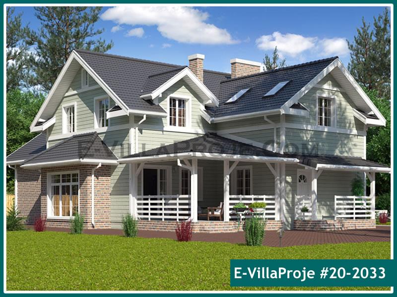 Ev Villa Proje #20 – 2033, 2 katlı, 3 yatak odalı, 0 garajlı, 255 m2