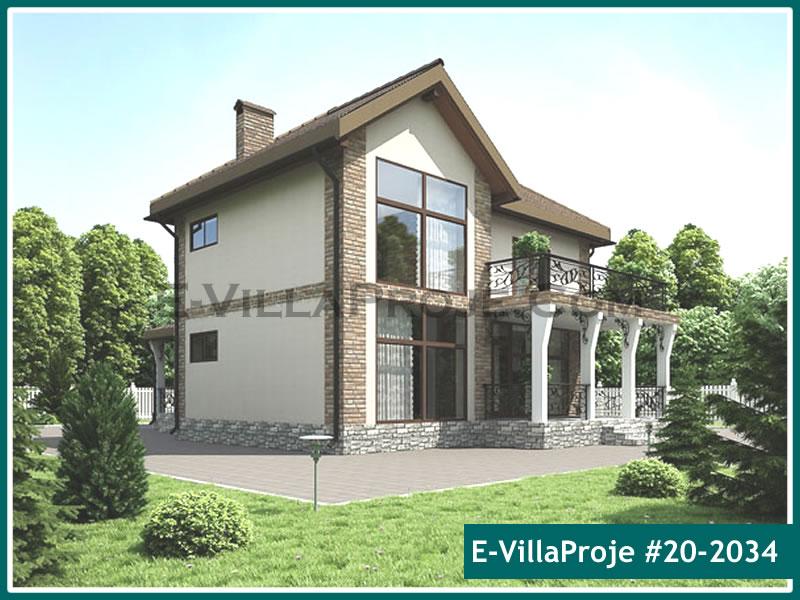 Ev Villa Proje #20 – 2034, 2 katlı, 4 yatak odalı, 0 garajlı, 234 m2