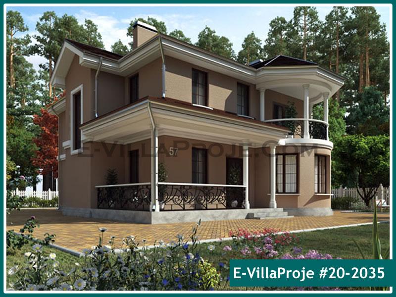 Ev Villa Proje #20 – 2035, 2 katlı, 3 yatak odalı, 0 garajlı, 214 m2