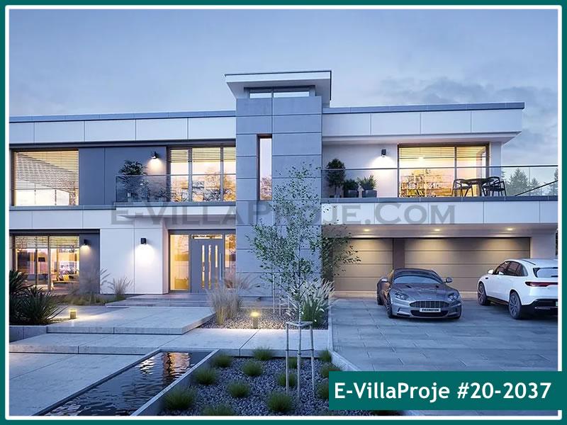 Ev Villa Proje #20 – 2037, 2 katlı, 4 yatak odalı, 3 garajlı, 440 m2