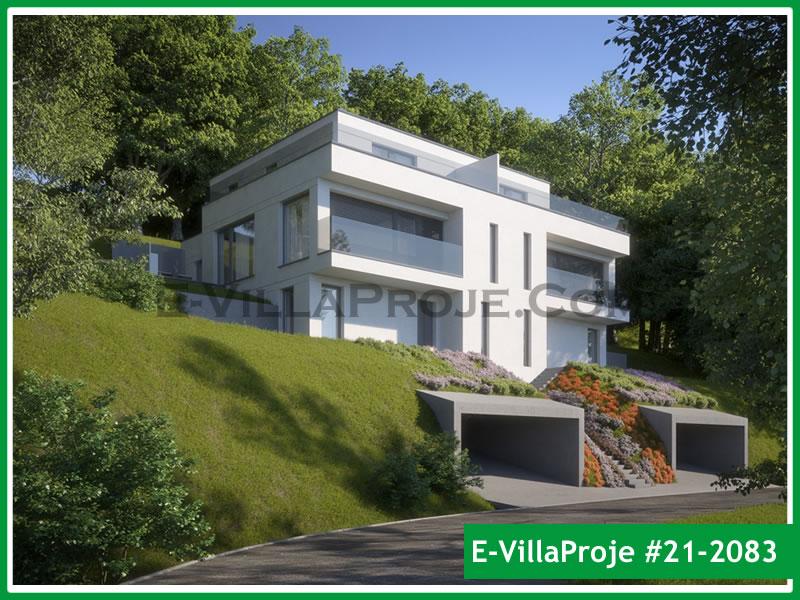Ev Villa Proje #21 – 2083, 3 katlı, 3 yatak odalı, 2 garajlı, 260 m2