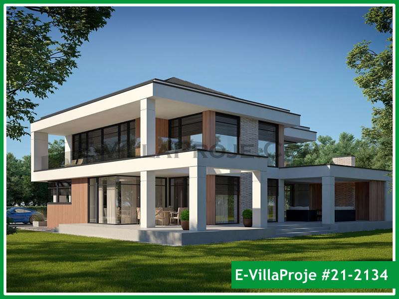 Ev Villa Proje #21 – 2134, 2 katlı, 3 yatak odalı, 2 garajlı, 322 m2